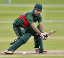 Tanmay Mishra top-scored for Kenya with 59, Scotland v Kenya, ICC World Cricket League Championship, Aberdeen, July 2, 2013