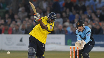 Michael Carberry's 31-ball 50 gave Hampshire's chase early momentum