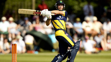 Mark Wallace led Glamorgan to victory