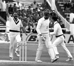 Lillee dismisses Gooch for 10 in the first innings