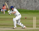 Ewan Chalmers clips the ball into the leg side, Scotland v Kenya, ICC Intercontinental Cup, 2nd day, Aberdeen, July 8, 2013