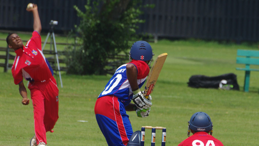 Left-arm spinner Delray Rawlins picked up five wickets