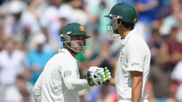 Phillip Hughes and Ashton Agar put on the highest tenth-wicket partnership of all time in Tests