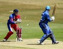 Alessandro Bonora was stumped for 23, Italy v Jersey, 1st semi-final, ICC European Championship Division One, Hove, July 13, 2013