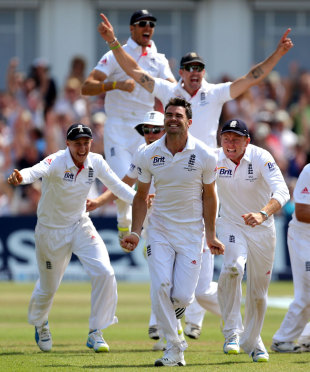 James Anderson lead England to a memorable victory but the constant need to turn to him is a worry