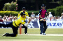 Jimmy Adams dives to take Joe Denly, Middlesex v Hampshire, Friends Life t20, North Group, Richmond, July, 14, 2013