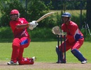 Armaan Kapoor hits out during his knock of 64, Canada Under-19 v Bermuda Under-19, ICC Americas Under-19, King City, July 13, 2013