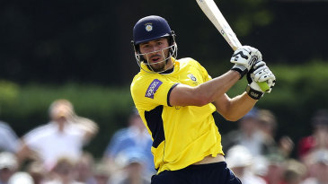 James Vince was in great form, Middlesex v Hampshire, Friends Life t20, North Group, Richmond, July, 14, 2013