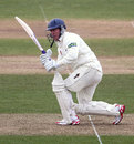 Murray Goodwin works to leg, Glamorgan v Northamptonshire, County Championship, Division Two, April 10, 2013