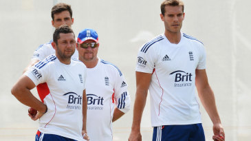 Chris Tremlett joined practice with the England Test squad