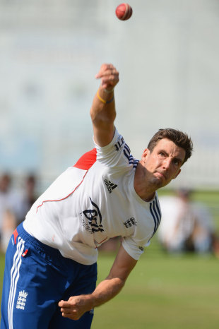 Steven Finn practises at Lord's, England v Australia, 2nd Investec Ashes Test, Lord's, July 17, 2013