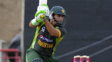 Nasir Jamshed drives through cover