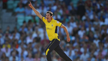Chris Wood removed Ricky Ponting