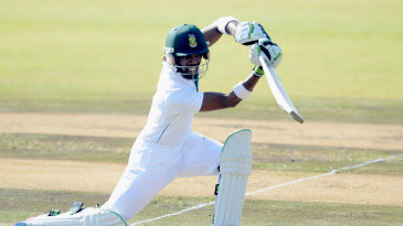 Thami Tsolekile also enjoyed the friendly batting conditions