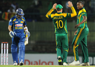 South Africa were in control for the first time in the series