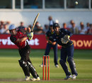 Chris Jones made his maiden T20 half-century, Gloucestershire v Somerset, FLt20 Midlands/Wales/West Group, Bristol, July 26, 2013