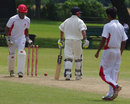 Canada wicketkeeper Trevin Bastiampillai stumps USA captain Timil Patel, Canada v United States of America, Auty Cup, 2nd day, King City, July 26, 2013
