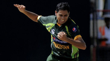 Zulfiqar Babar picked up three wickets on debut