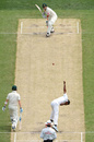 Chanaka Welegedara bowls to Shane Watson, Australia v Sri Lanka, 2nd Test, Melbourne, 2nd day, December 27, 2012