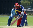Muhammad Hanif's knock of 74 went in vain, Argentina v Bahrain, ICC World Cricket League Division Six, St Clement, July 21, 2013