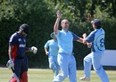Lucas Paterlini picked up four wickets, Argentina v Kuwait, ICC World Cricket League Division Six, St Martin, July 24, 2013