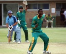Osita Onwuzilike finished with 3 for 23, Argentina v Nigeria, ICC World Cricket League Division Six, St Saviour, July 27, 2013