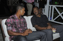 Gordon Greenidge speaks with Kieran Powell, Caribbean Premier League, March 16, 2013