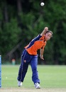 Shasha Brüning picked up two wickets in three overs, Netherlands Women v Sri Lanka Women, ICC Women's World Twenty20 Qualifiers, 2nd semi-final, Dublin, July 29, 2013