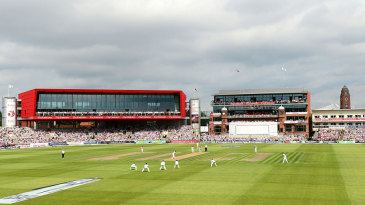 Test cricket was back at Old Trafford after a gap of three years