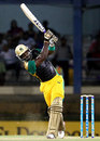 Danza Hyatt slammed 42 off 26 balls, Trinidad & Tobago Red Steel v Jamaica Tallawahs, Caribbean Premier League, Port-of-Spain, August 7, 2013