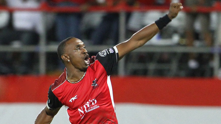 Dwayne Bravo began well but was taken for 26 runs in the 19th over