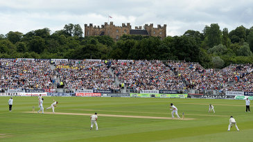 Lumley Castle witnesses its first Ashes Test
