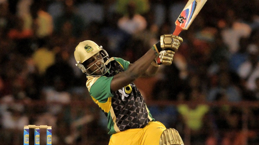 Andre Russell blasted 47 runs off 19 balls to take Jamaica to victory