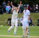 Holly Ferling celebrates picking up Charlotte Edwards, England Women v Australia Women, Only Test, 2nd day, Wormsley, August 12, 2013