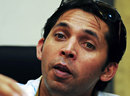 In a media conference, Mohammad Asif confessed to his role in spot-fixing in 2010, Karachi, August 14, 2013