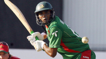 Mahbubul Alam poised to hit the ball