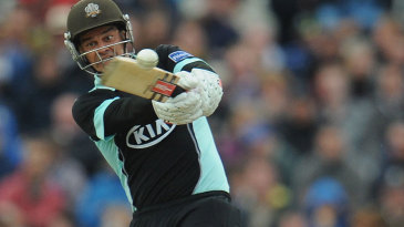 Zander de Bruyn played a vital knock to steer Surrey home