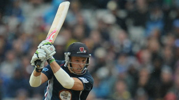 David Willey was promoted to open in the FLt20 final...with instant impact