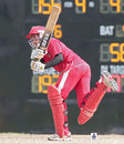 Anish Param plays a shot against Sri Lanka Under-23, Singapore v Sri Lanka Under-23, Group B, Asian Cricket Council Emerging Teams Cup, Singapore, August 21, 2013