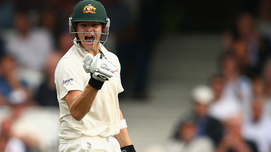 Steven Smith was delighted to reach his first Test hundred