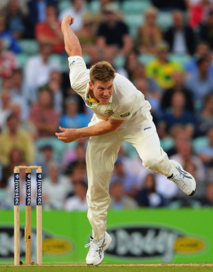 James Faulkner wasn't impressed with his first look at England
