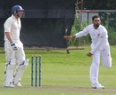 Raza-ur-Rehman picked up four wickets for eight runs, Canada v Netherlands, ICC Intercontinental Cup, King City, 1st day, August 22, 2013