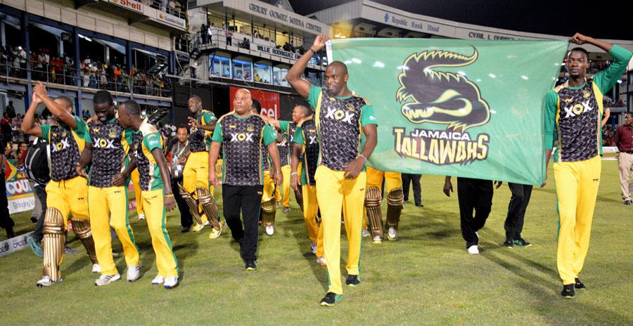 The Jamaica team take a victory lap | Cricket Photo | ESPN ...