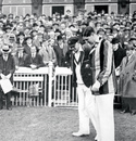 Bill Woodfull and Percy Chapman at the toss, England v Australia, 4th Test, Old Trafford, 1st day, July 25, 1930