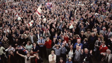 England fans are jubilant after the extraordinary win at Headingley