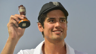 Alastair Cook became an Ashes winning captain at the first attempt