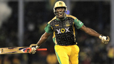 Andre Russell smashed the winning runs for Jamaica Tallawahs