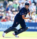 Fabian Cowdrey places one through the off side, Kent v Nottinghamshire, YB40 Group A, Canterbury, August 26, 2013