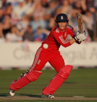 Sarah Taylor made 77 in 58 balls, England Women v Australia Women, 1st T20, Chelmsford, August, 27, 2013