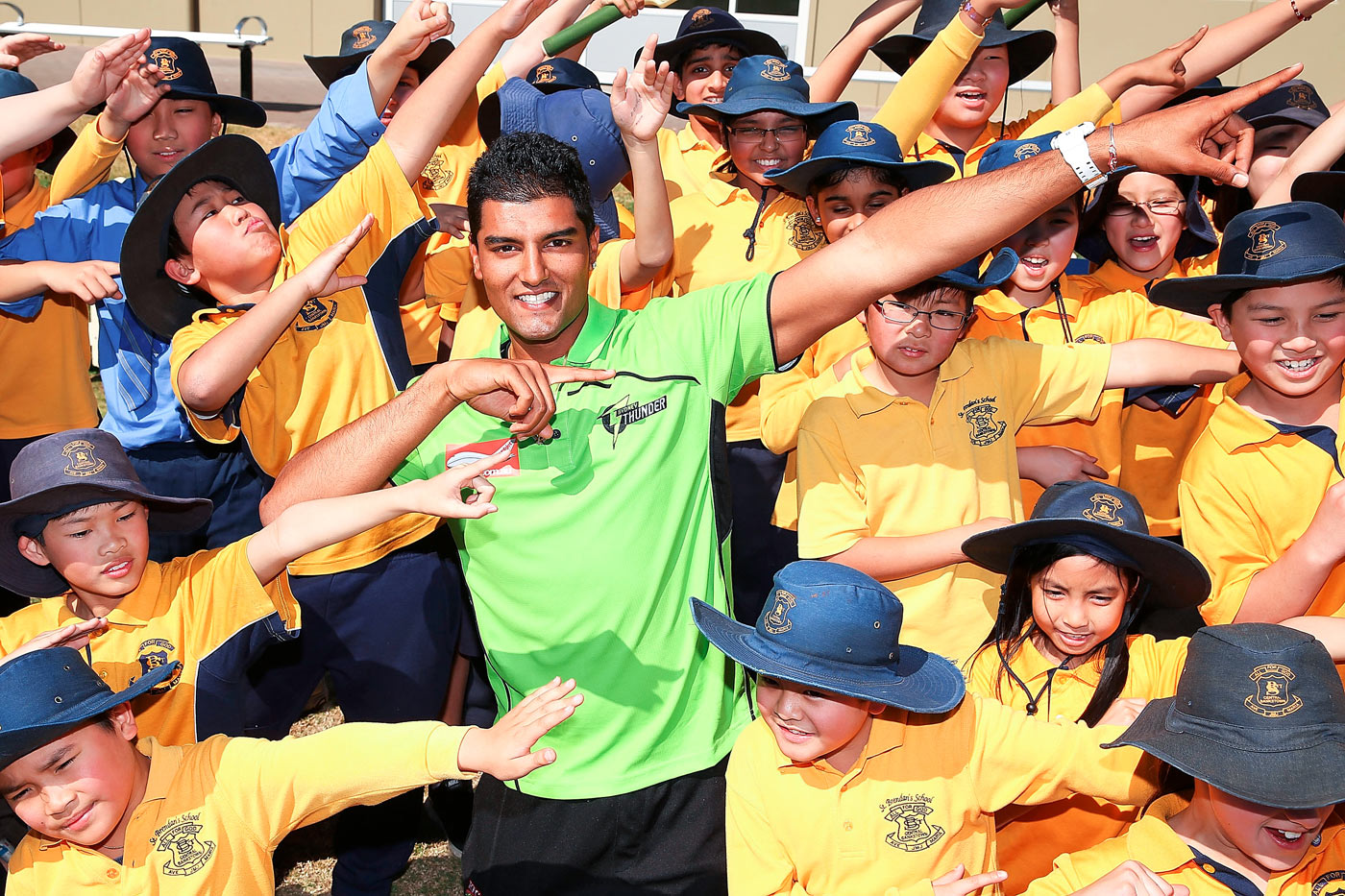 Immigrant song: Gurinder Sandhu, of Punjabi origin, has made rapid strides with New South Wales